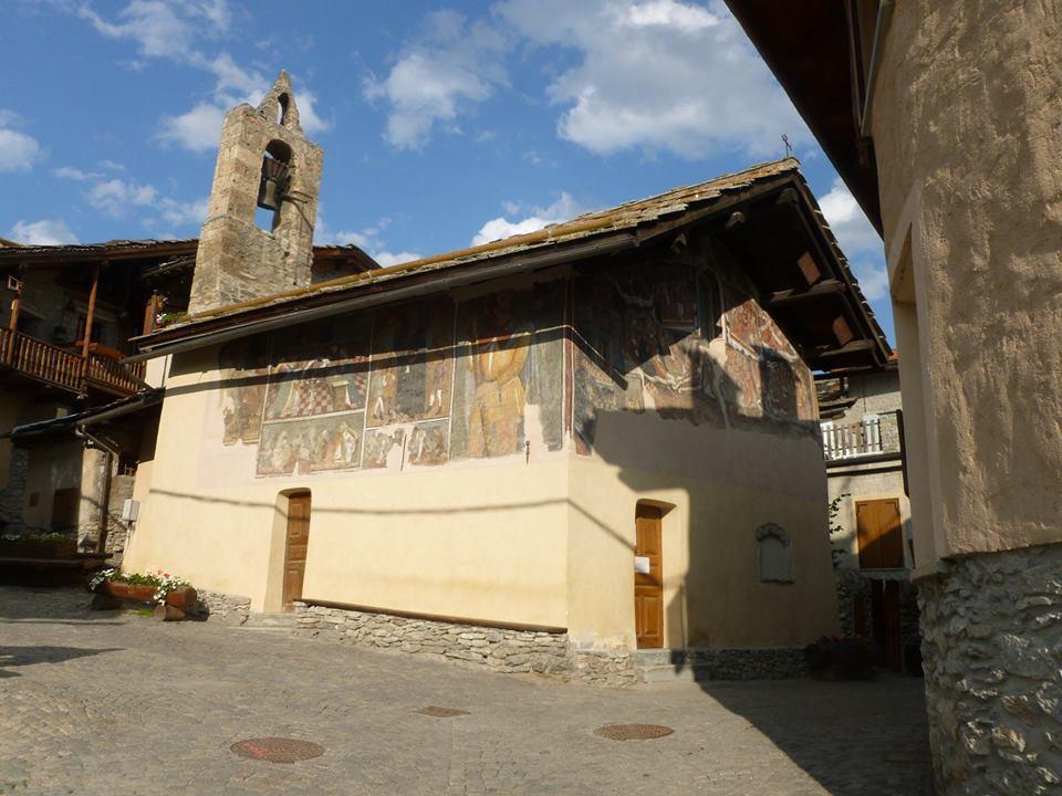 Jouvenceaux, la cappella affrescata dai fratelli Serra