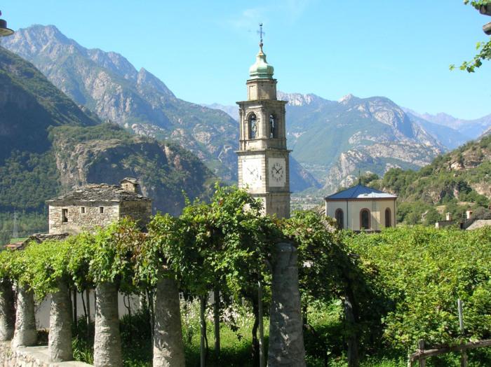 Carema, dove le vigne diventano architettura