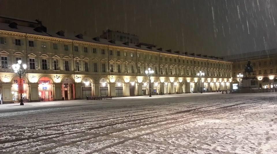 Torino e la neve