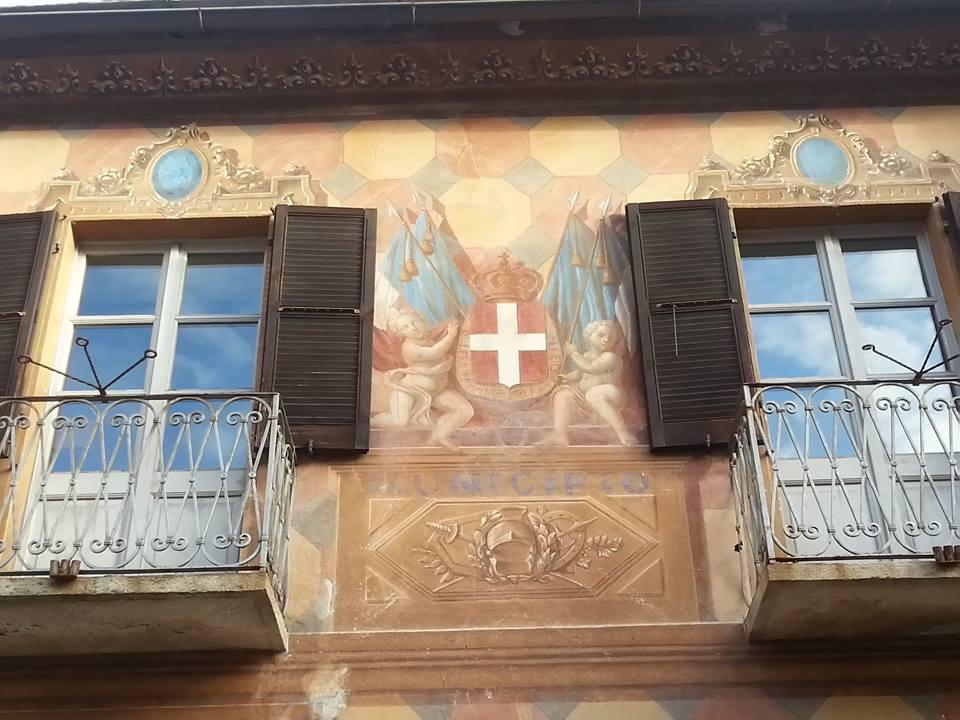 casa mandamentale di Santa Maria Maggiore_facciata