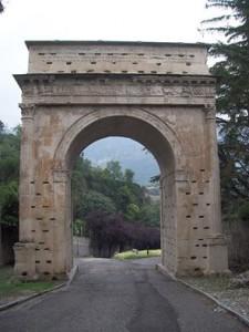 Arco di Augusto a Susa - foto di Paolo Barosso