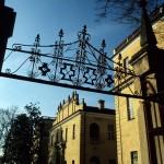 Il cancello d'ingresso - foto di Giovanni Dughera