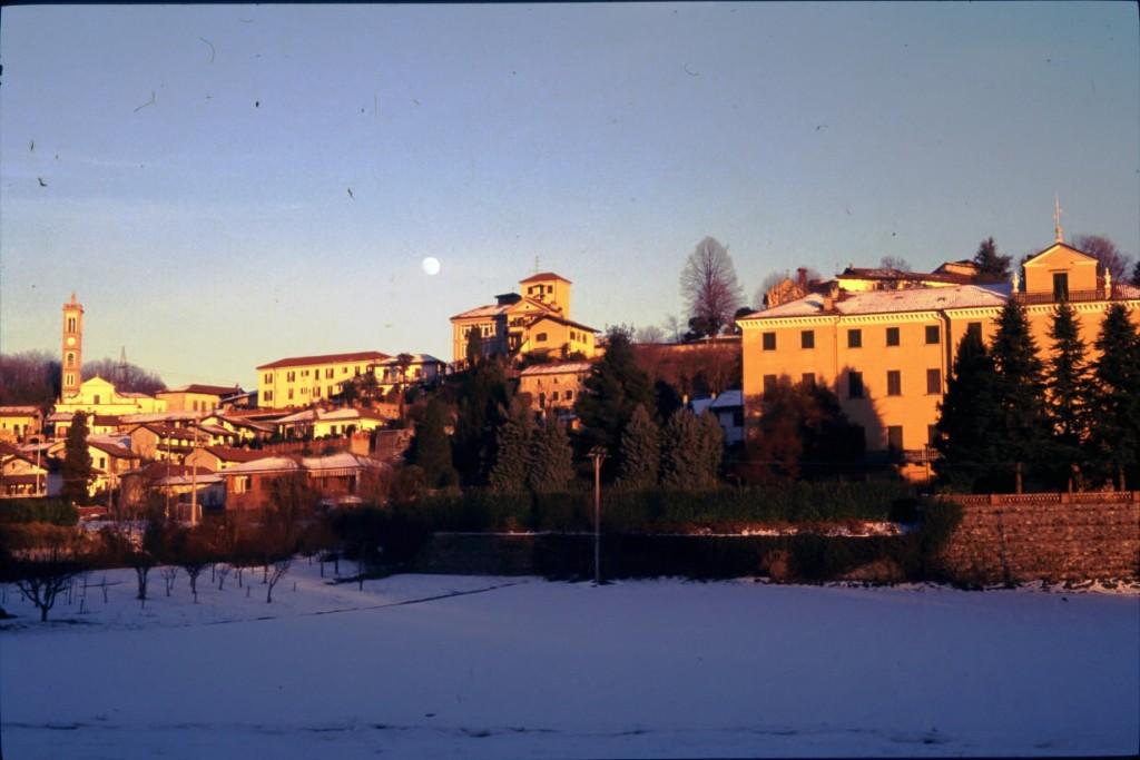 Visione invernale di Torre Canavese - foto di Giovanni Dughera