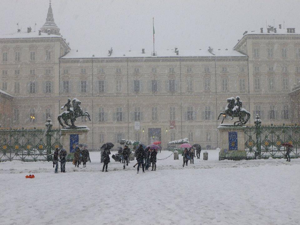Palazzo Reale in veste invernale - foto di Paolo Barosso