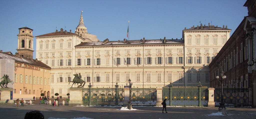 Facciata di Palazzo Reale - foto di Paolo Barosso