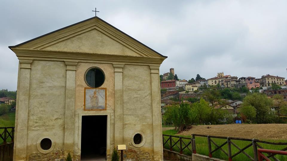Vista di Castelnuovo Don Bosco dalla chiesa di Sant'Eusebio