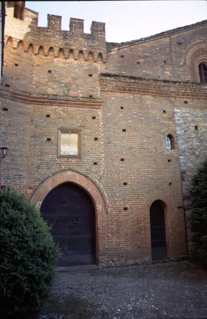 Castello di Passerano - dettaglio
