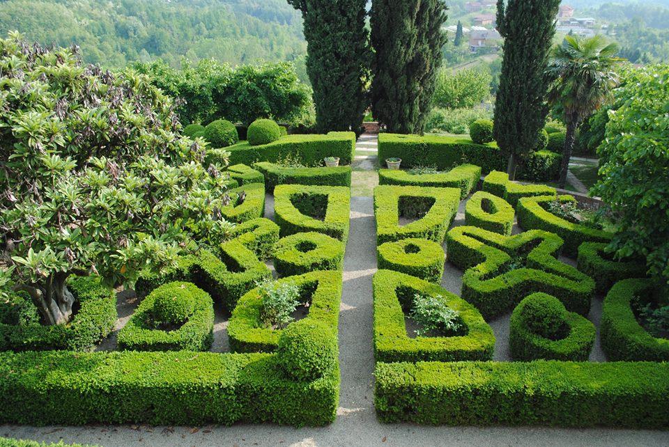 Castello di Soglio - Giardino all'italiana