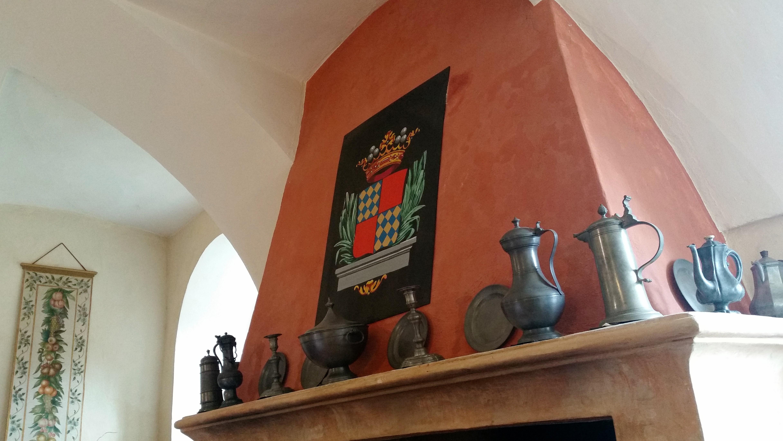 Castello di Castellamonte: dettaglio degli interni