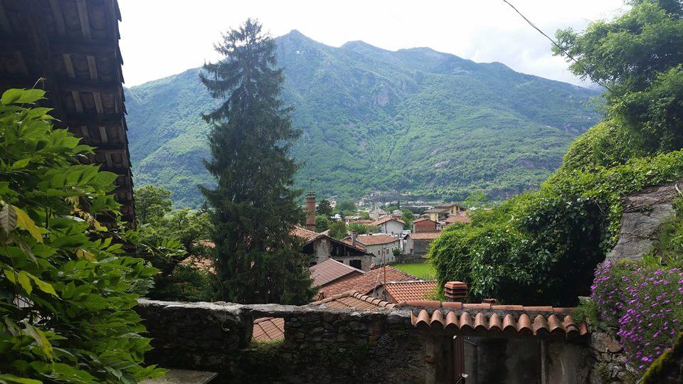 Panorama della valle dai Balmetti