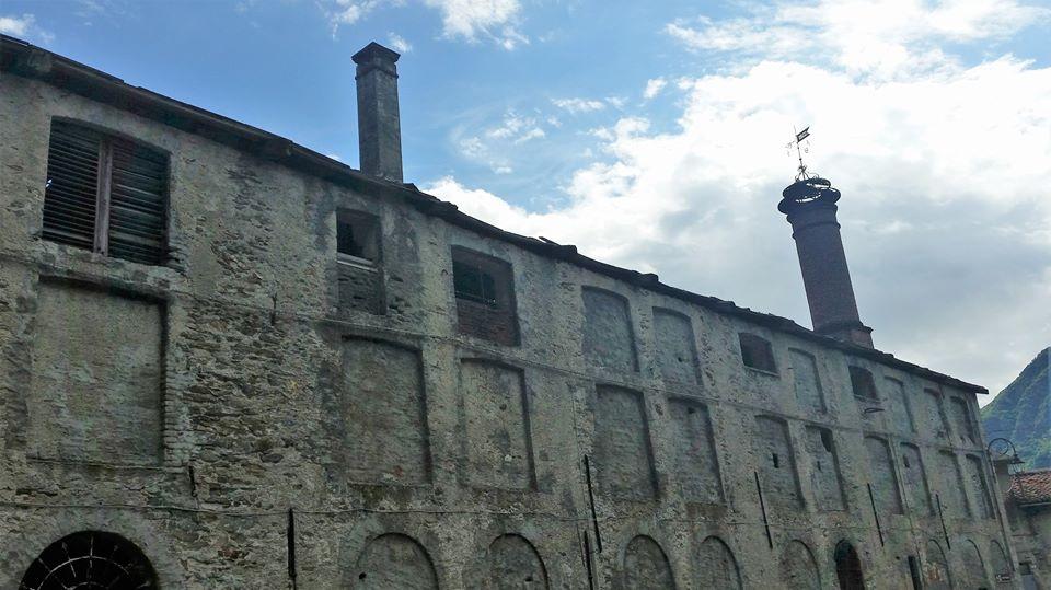 L'ex stabilimento birrario De Giacomi