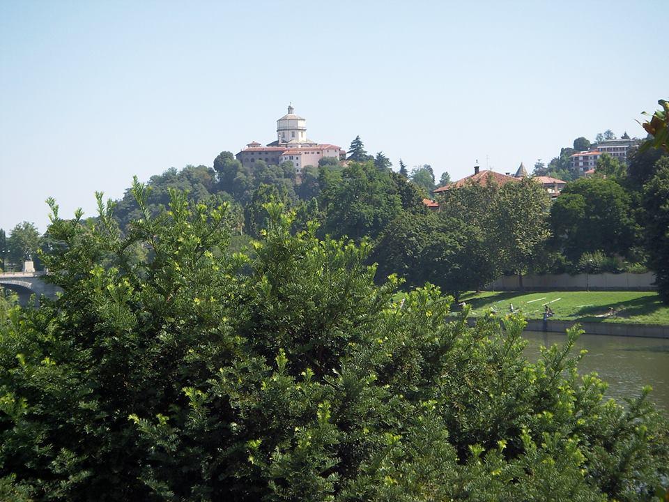 Torino - scorcio del Monte dei Cappuccini, dove i russi piazzarono le artiglierie per cannoneggiare i francesi asserragliati nella capitale sabauda