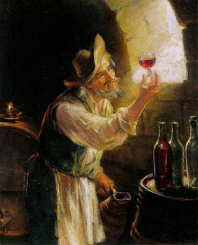 Il viaggio del vino dalla cantina alla tavola del re