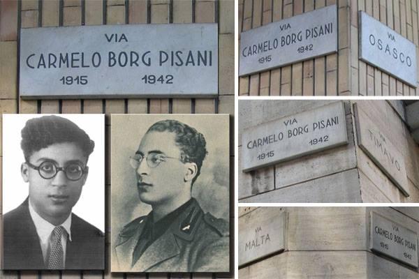 """Stradario torinese: via Carmelo Borg Pisani, una strada intitolata ad un """"eroe del fascismo"""" e patriota maltese nel """"rosso"""" borgo San Paolo"""