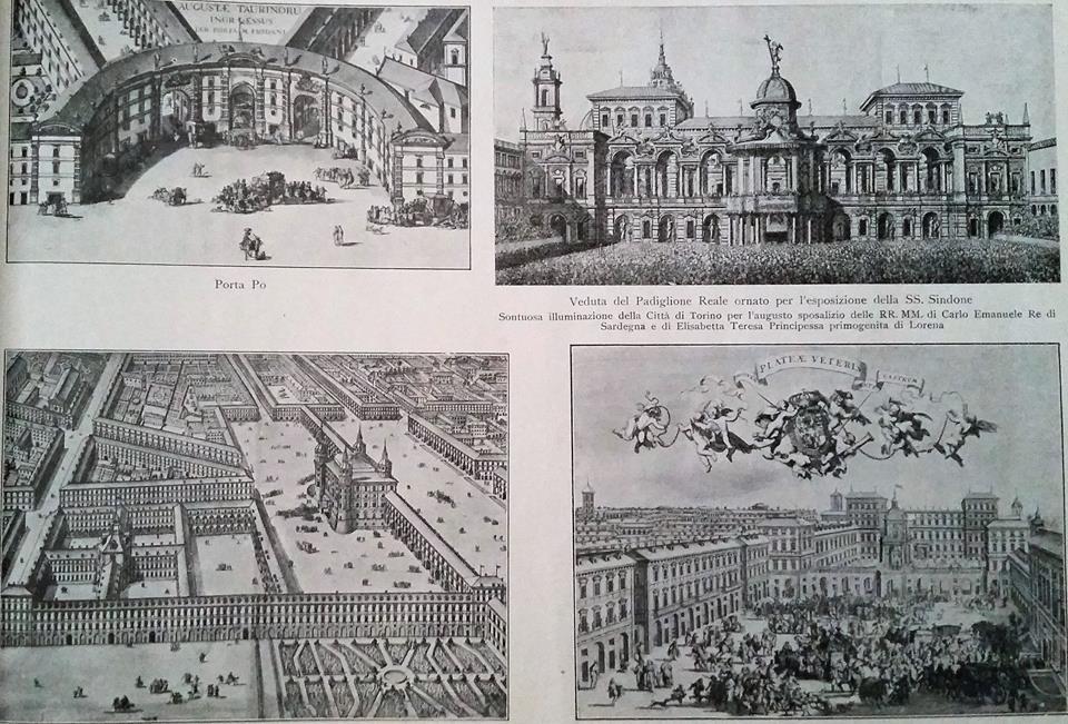 Vedute di Torino nel Settecento - da incisioni d'epoca