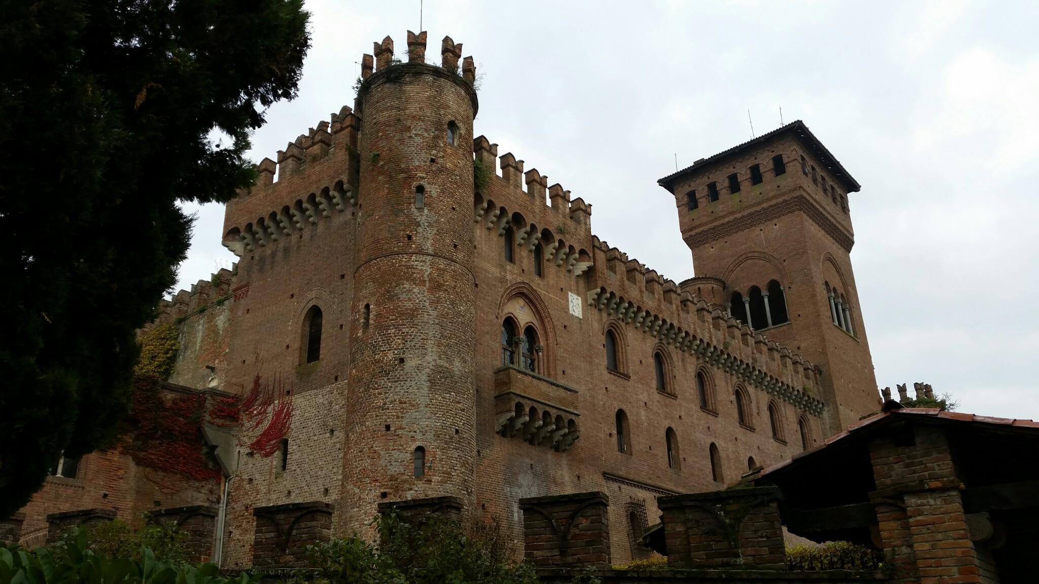 Gabiano - veduta del castello