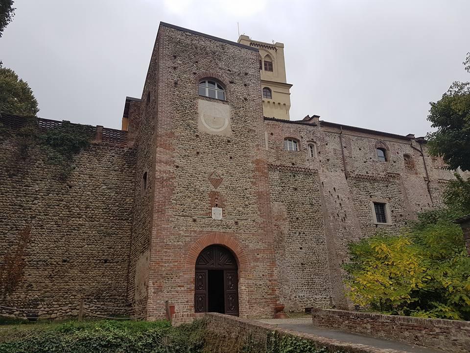 Castello di Rivalta - la Torre porta d'ingresso