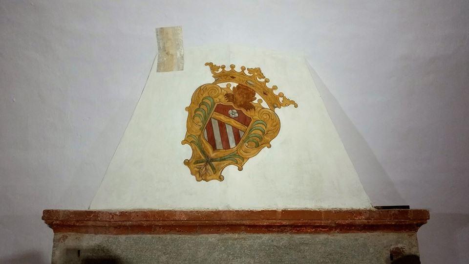 Rivalta - scudo recante l'arme degli Orsini