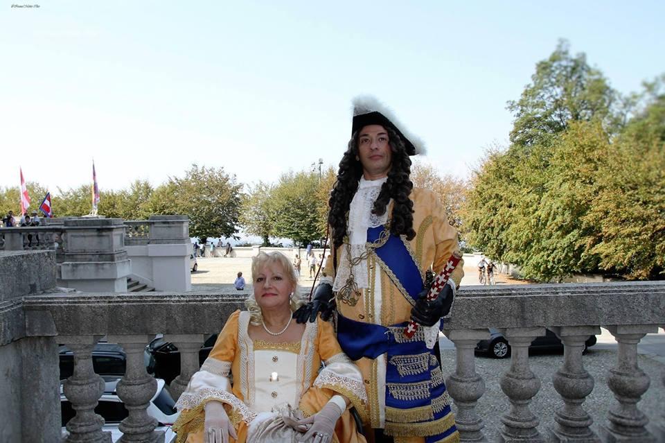 LL. AA. RR il Duca Vittorio Amedeo II di Savoia e la Duchessa Anna Maria di Borbone - Orleans