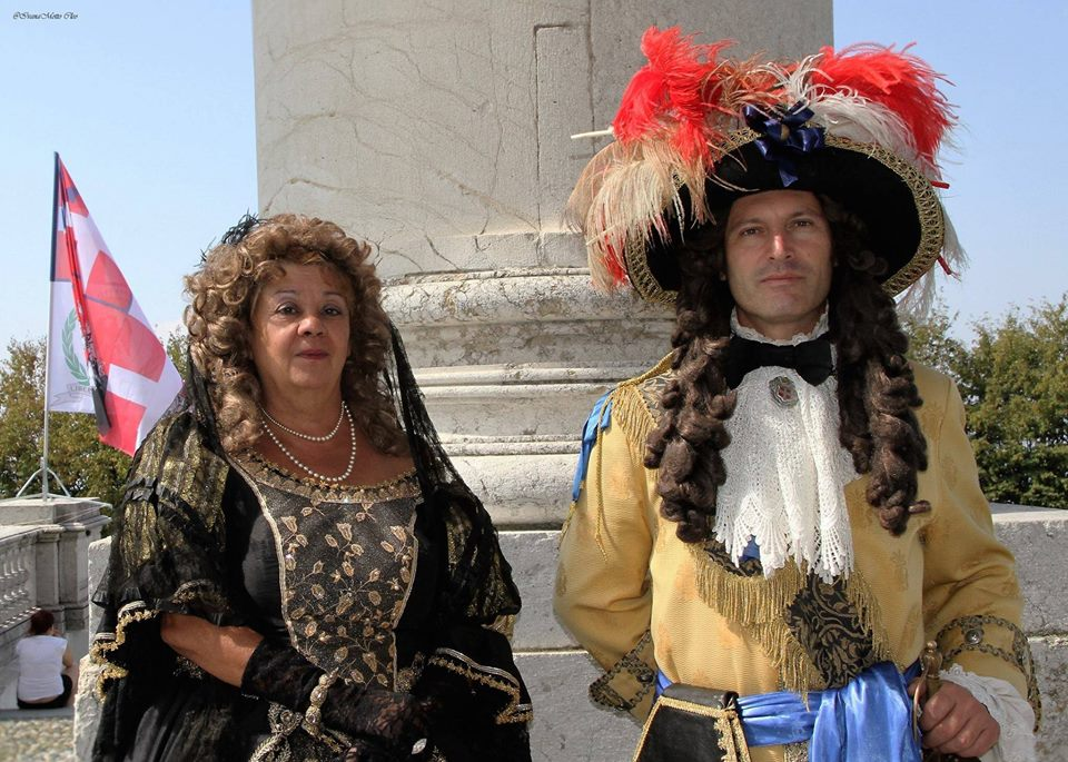 LL.AA.RR. la DuChessa Madre Giovanna Battista di Savoia - Nemours e il Principe Eugenio Francesco di Savoia - carignano - Soissons