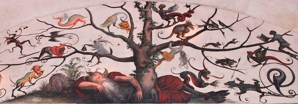 L'albero genealogico degli gnomi, versione profana dell'albero di Jesse