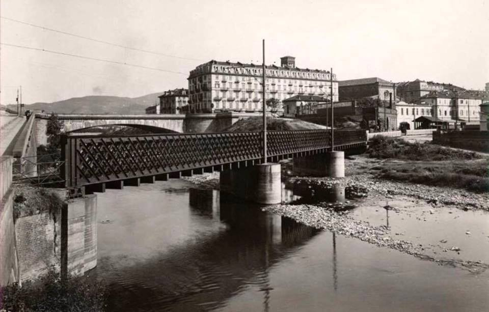 Torino che non c pi il ponte principessa clotilde di for Ponte del secondo piano