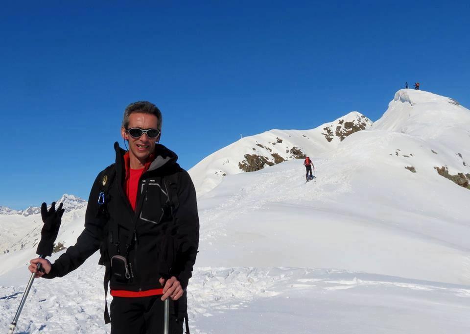 Gianpaolo Castellano, scrittore torinese che ama le montagne e gli sport legati all'ambiente naturale ed al territorio