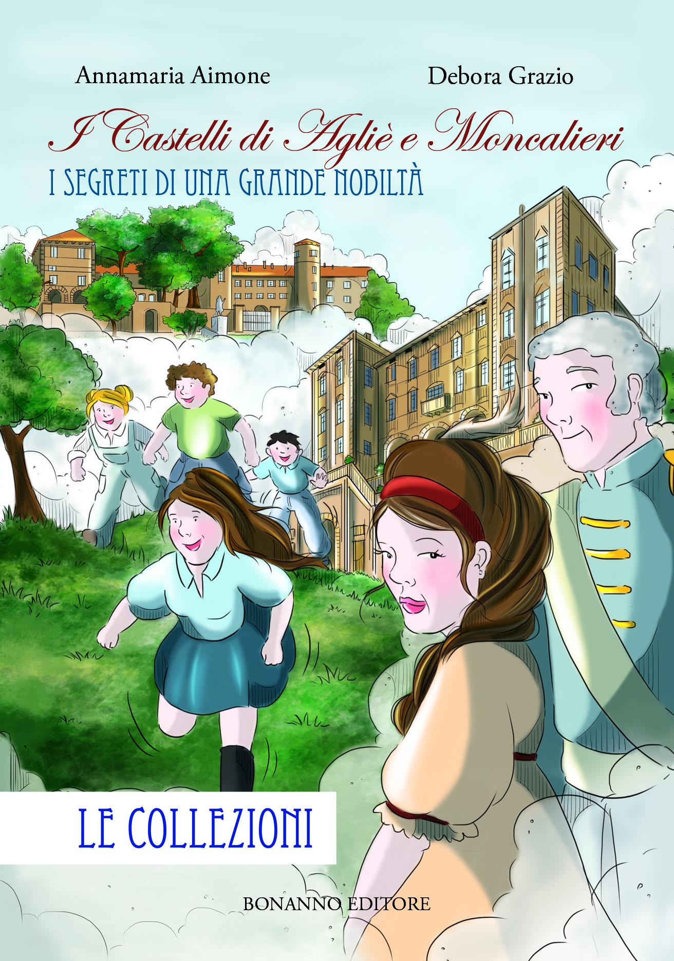 La storia sabauda a fumetti: nuovo libro di Aimone e Grazio sui castelli di Agliè e Moncalieri