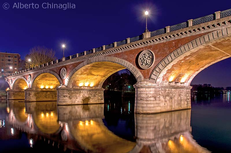 Breve storia di tre ponti torinesi sul Po