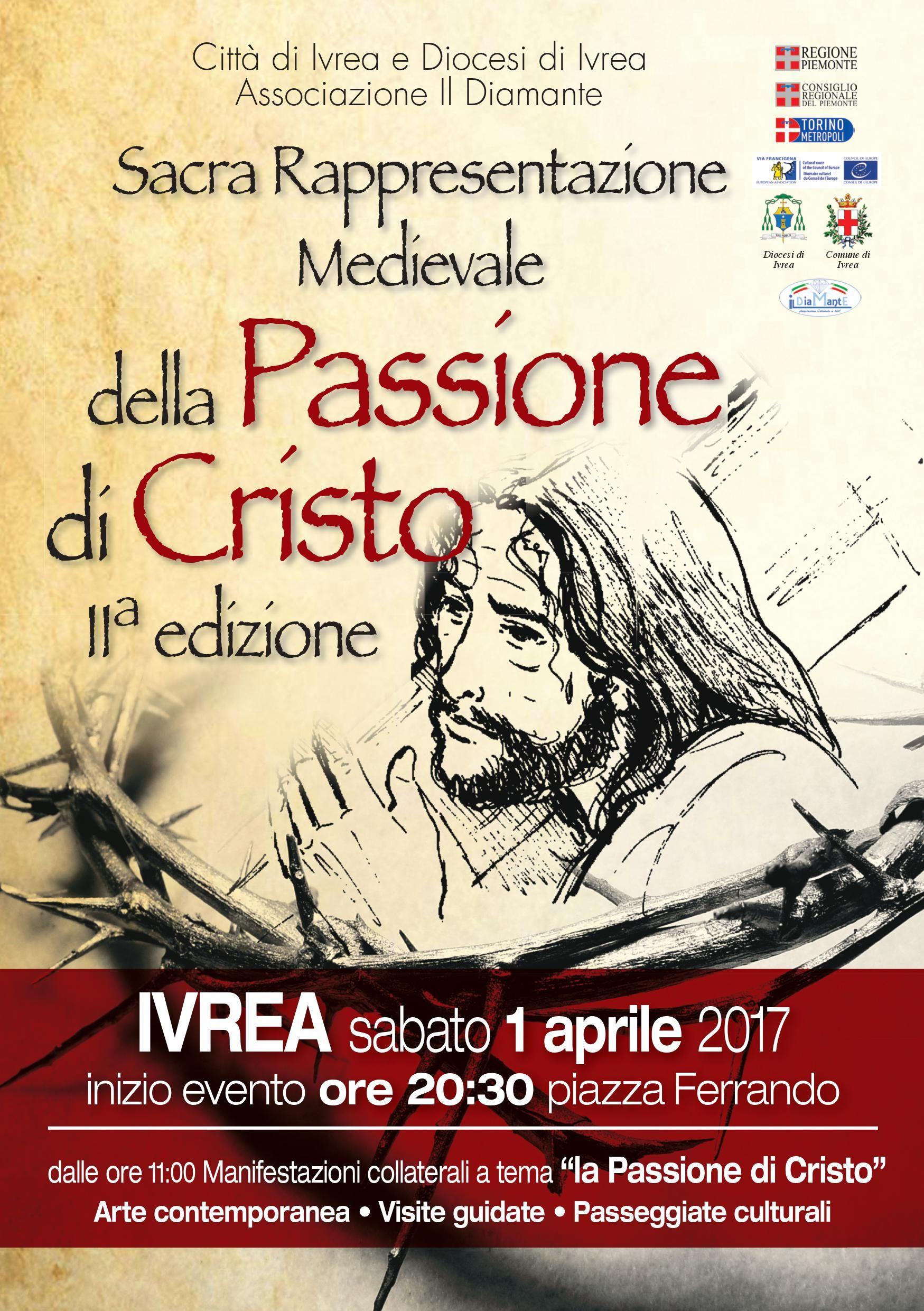 Ad Ivrea in scena il Medioevo con la Sacra rappresentazione della Passione di Cristo