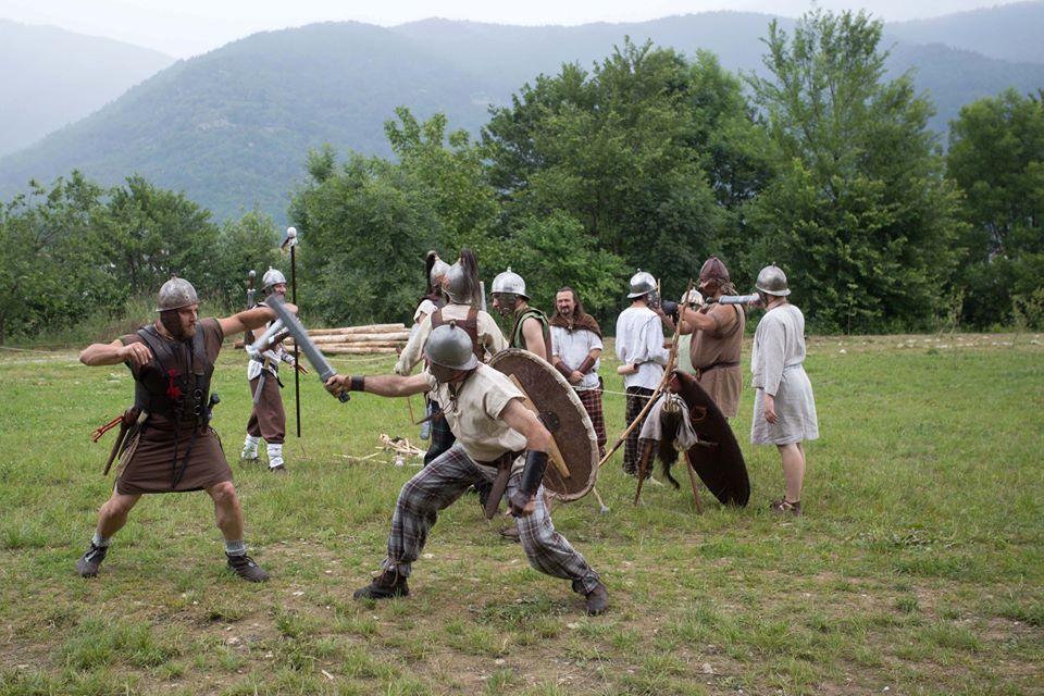 I Longobardi in Piemonte e la rievocazione di Cannetum