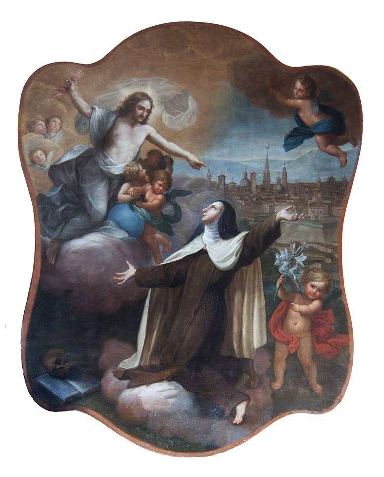 La beata Maria degli Angeli prega per la Città di Torino