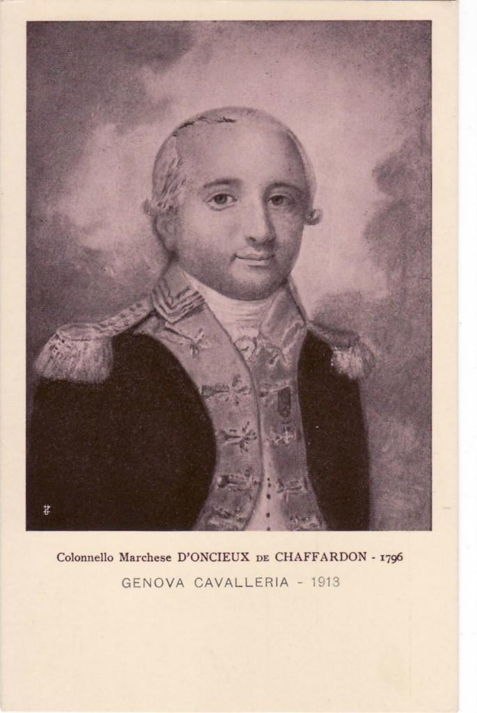 D'Oncieu de Chaffardon, l'eroe di Carassone
