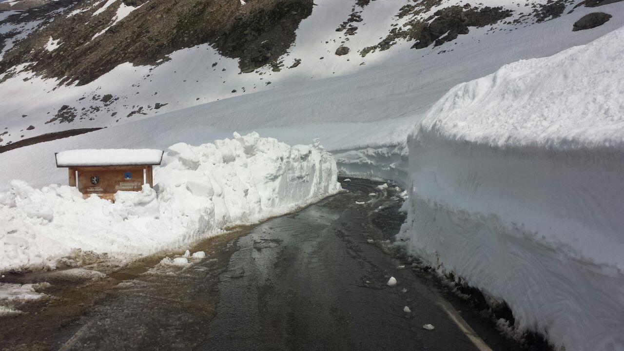 Riaperta la strada provinciale del colle del Nivolet fino al rifugio Savoia