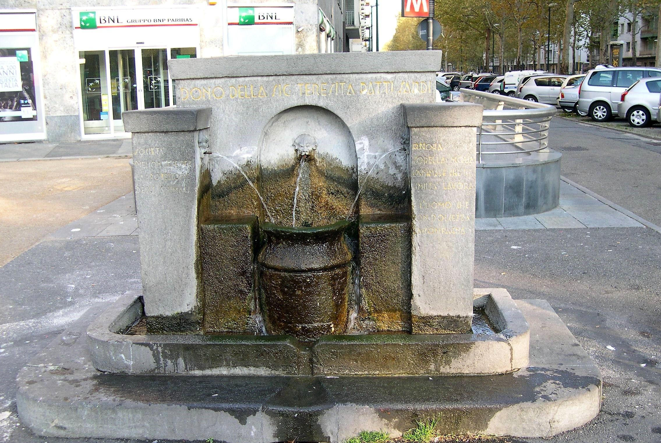 La fontanella di piazza Rivoli a Torino, tra leggenda metropolitana e realtà storica