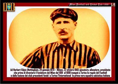 24 gennaio: la Torino del calcio ricorda Herbert Kilpin nel giorno del suo compleanno