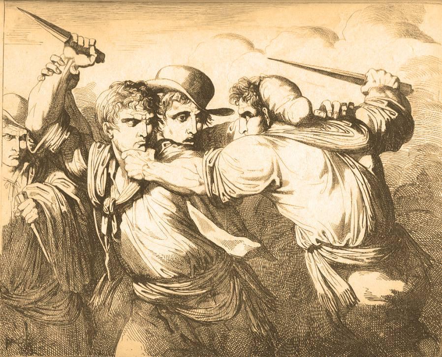 Delit an Piemont: armus-ciand ant ij papé dij tribunaj - Una rissa mortale e un caso di malagiustizia tra Pessinetto e Mezzenile