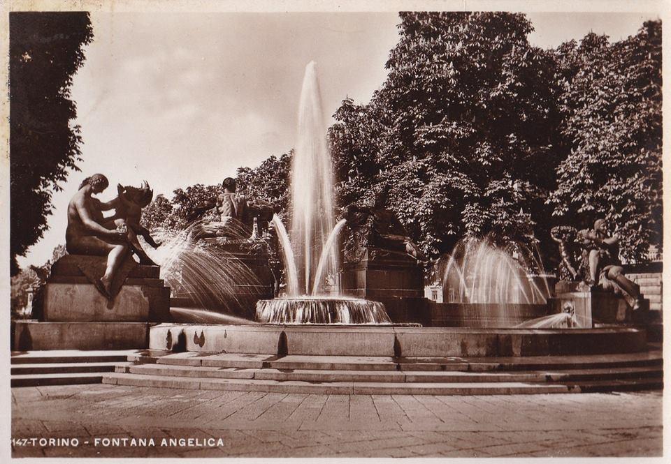 Come nacque il progetto della Fontana Angelica di Torino, voluta dal conte Bajnotti e realizzata da Giovanni Riva - I parte