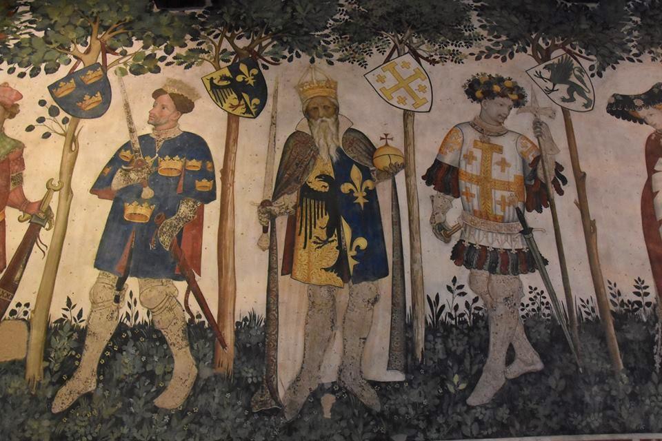 Itinerario d'arte nel castello della Manta tra gotico internazionale e manierismo