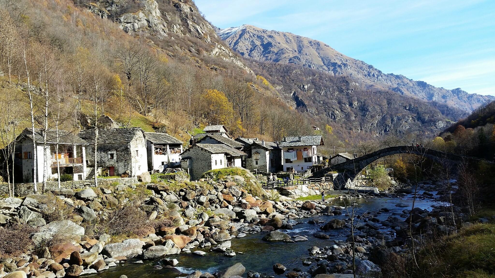 Architettura montana in Valchiusella - I parte