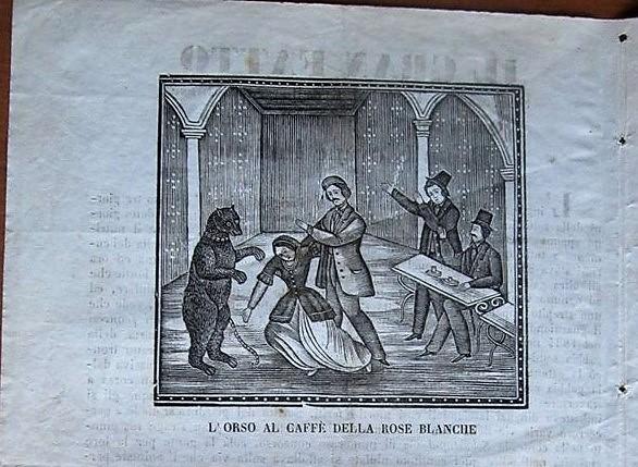 Il giovane pinerolese che salvò a Parigi una donna dalle grinfie di un orso inferocito