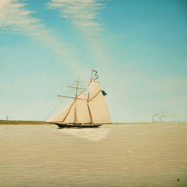 La Rondinella, goletta a gabbiola della Marina del Regno di Sardegna