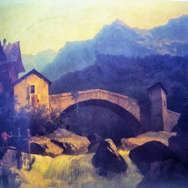 Scipione Carignani, pittore paesaggista e miniaturista