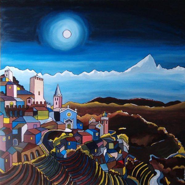 I paesaggi piemontesi e liguri di Gianni Gaschino in mostra a Cuneo