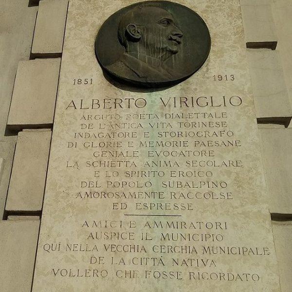 17 febbraio 1851: nasceva a Torino Alberto Viriglio, scrittore e poeta