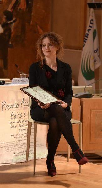 """Il """"Premio Acqui Edito e Inedito"""" all'albese Patrizia Deabate"""