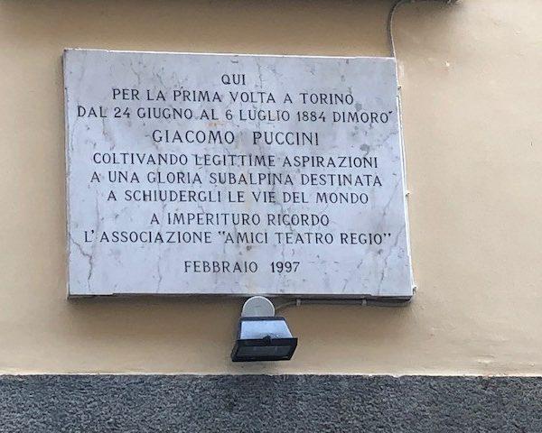 Quando Puccini amava Torino