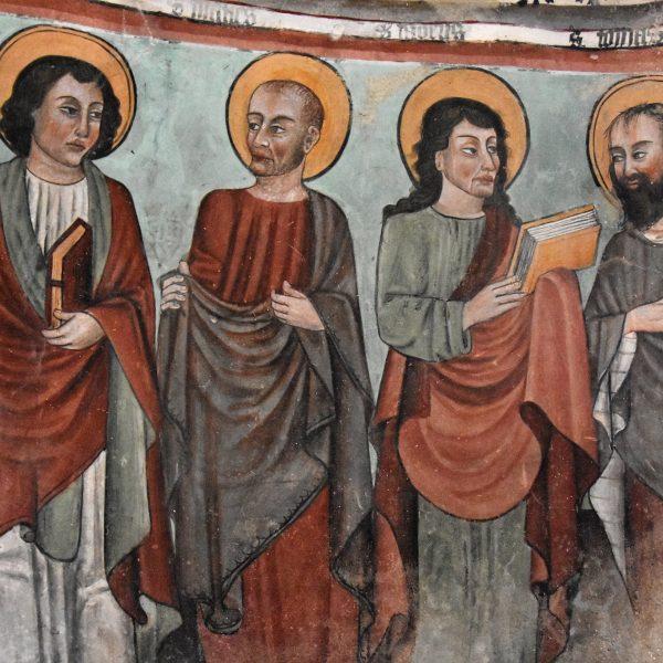 Baldissero Canavese, gli affreschi di Giacomino d'Ivrea e il beato Bernardo di Baden nella cappella di Vespiolla
