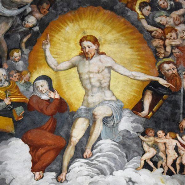 Boves, il santuario della Madonna dei Boschi e gli echi michelangioleschi del Giudizio Universale