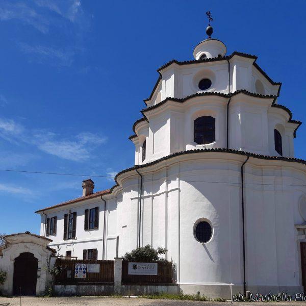 Il santuario del Valinotto, un gioiello del barocco piemontese nelle campagne di Carignano